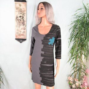 People's Liberation Form Fit Scoop Back Tee Dress